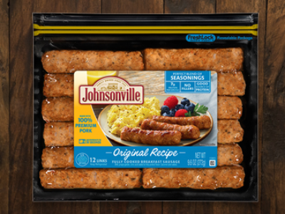 Original Recipe Fully Cooked Breakfast Sausage Links