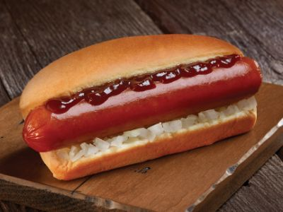 grab and go Sweet & Smokey sausage in baked roll by Johnsonville C-Store for convenience stores or commissary use