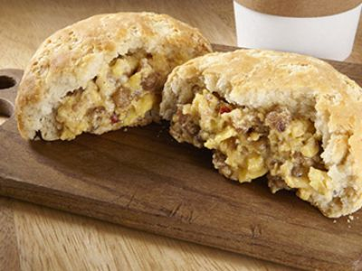 Sausage, Egg & Cheese Biscuit 4 oz.